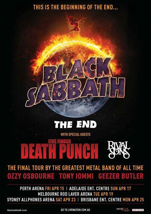 Korn Australian Tour