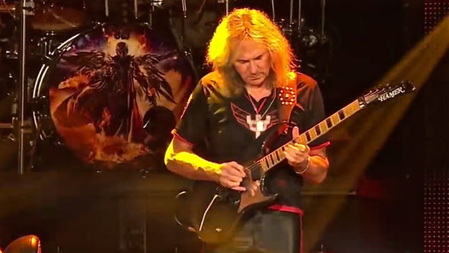 """JUDAS PRIEST Guitarist GLENN TIPTON - """"We Sat Around A Gas Fire With Our Slippers On And Wrote Songs And They Became Heavy Metal Classics In Their Own Right"""""""
