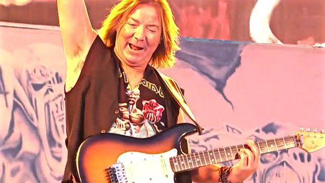 "IRON MAIDEN Guitarist DAVE MURRAY On Recording The Book Of Souls - ""There's No Hard And Fast Rules To The Way We Do Things... If It Sounds Good And If We Like It, We Keep It"""