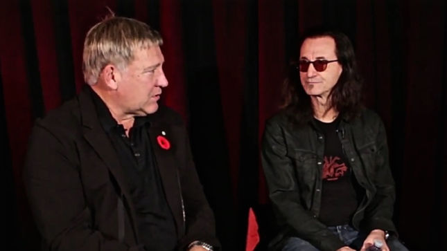 RUSH - Alex Lifeson And Geddy Lee Discuss The Physical Toll That Neil Peart Endures During A 3-Hour Show; Video
