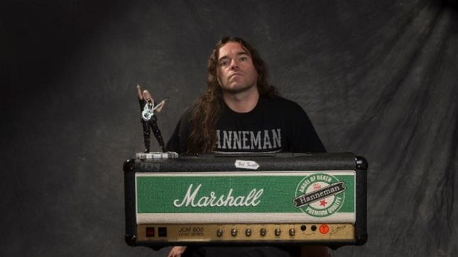BROKEN HOPE's Jeremy Wagner Gives A Rig Rundown Of SLAYER's Jeff Hanneman Collection; Video
