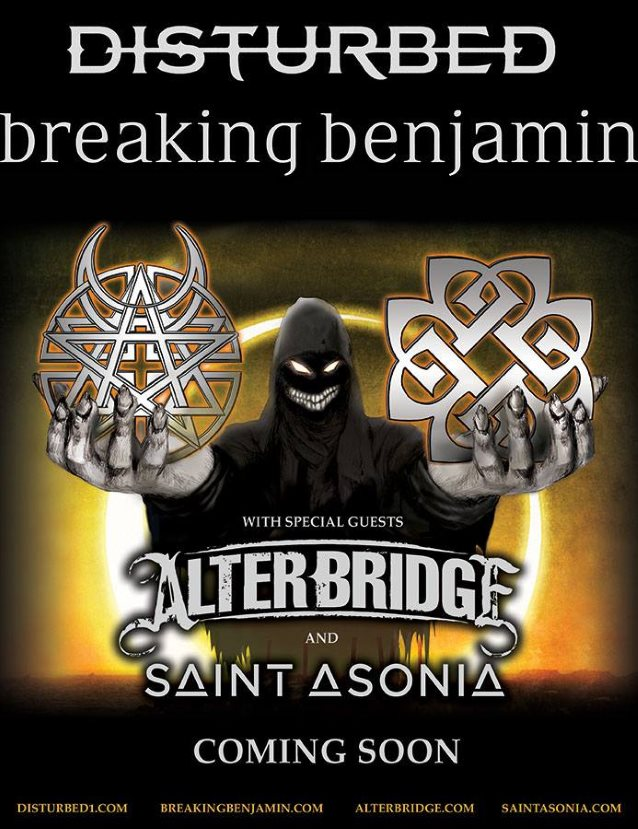 Breaking Benjamin Tour With Disturbed