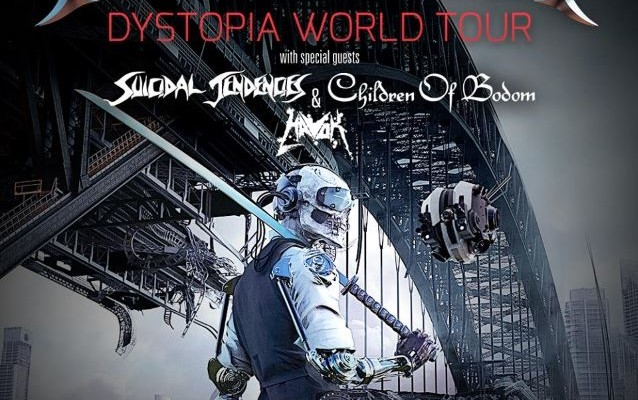 Dystopia World Tour Revention Music Center July
