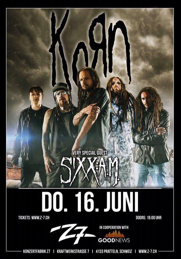 Korn And Breaking Benjamin Tour Dates