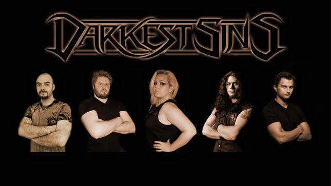 Norway's DARKEST SINS Sign With Pride & Joy Music; RHAPSODY OF FIRE, FALCONER Members Guest On New Album
