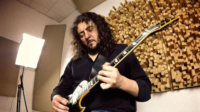 "GORY BLISTER Guitarist RAFF SANGIORGIO Performs ""Magic River"" Track From Rebirth Album; Guitar Video Streaming"