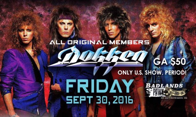 Dokken Reunion Tour