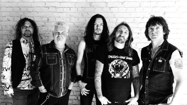 """TYGERS OF PAN TANG Shun The Weak With """"Only The Brave"""" Video"""