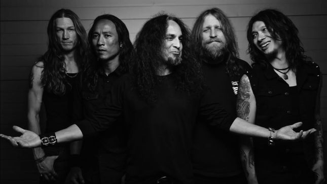 "DEATH ANGEL Performs ""Father Of Lies"" Live On EMGtv; Video"