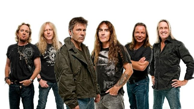 IRON MAIDEN Announce Book Of Souls World Tour European Dates For 2017