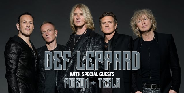 def leppard announces north american tour with poison and tesla heavy. Black Bedroom Furniture Sets. Home Design Ideas