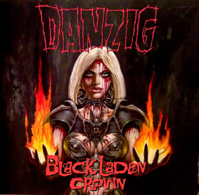 Danzig To Release Black Laden Crown Album In May Cover