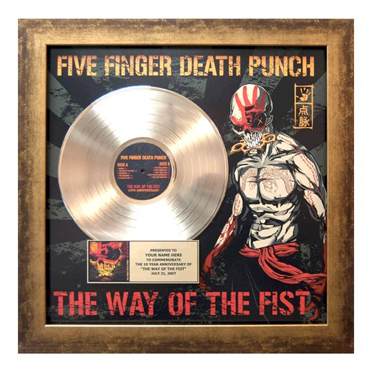 Five Finger Death Punch The Way Of The Fist Album Cover FIVE FINGER DEA...