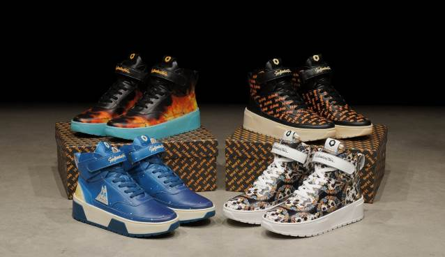 fff4cec9389 DEF LEPPARD Announces New Collaboration With Luxury Sneaker Brand SIX  HUNDRED FOUR