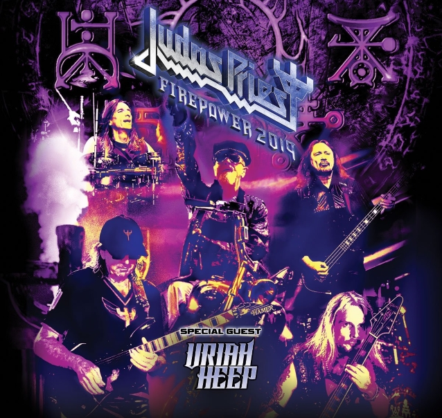 judas priest announces 2019 north american tour with uriah heep heavy. Black Bedroom Furniture Sets. Home Design Ideas