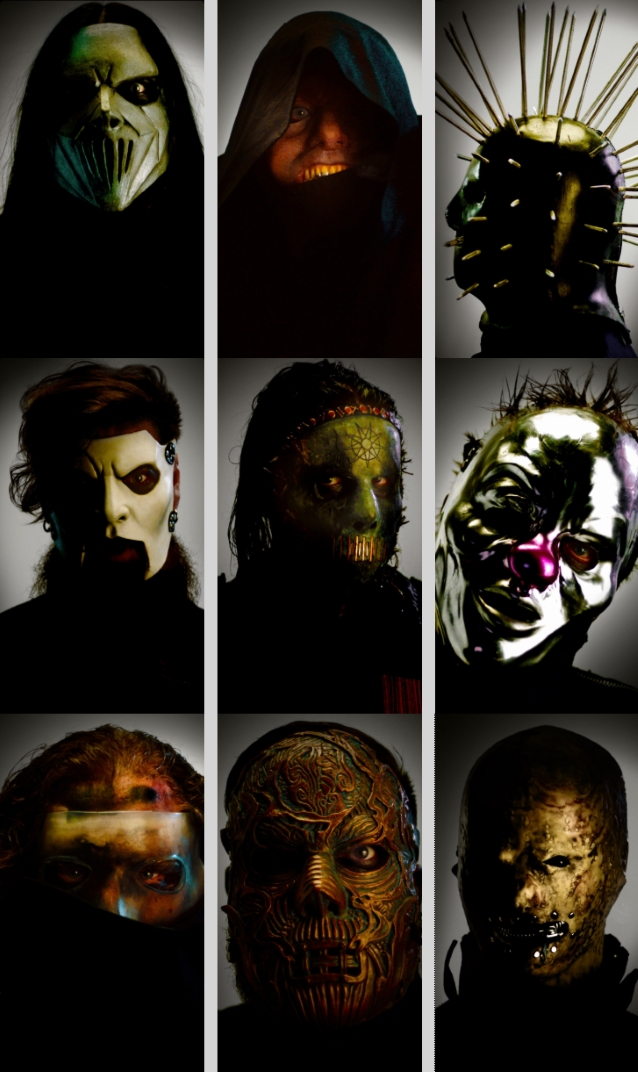 Here Is A Closer Look At SLIPKNOT's New Masks - Heavy-Metal it