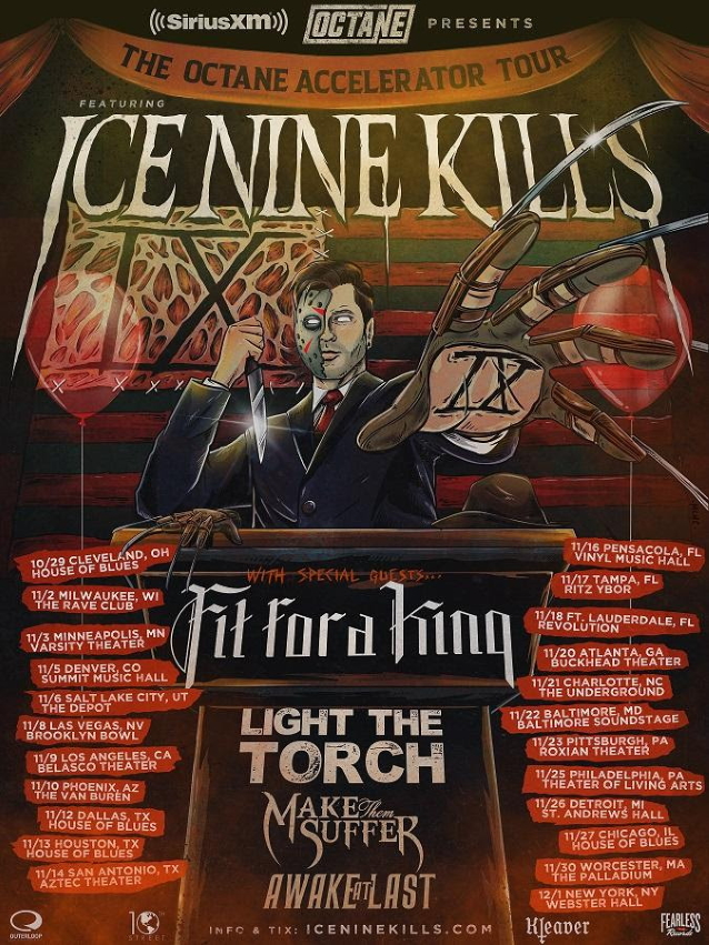ICE NINE KILLS Announces Fall 2019 'The Octane Accelerator ...