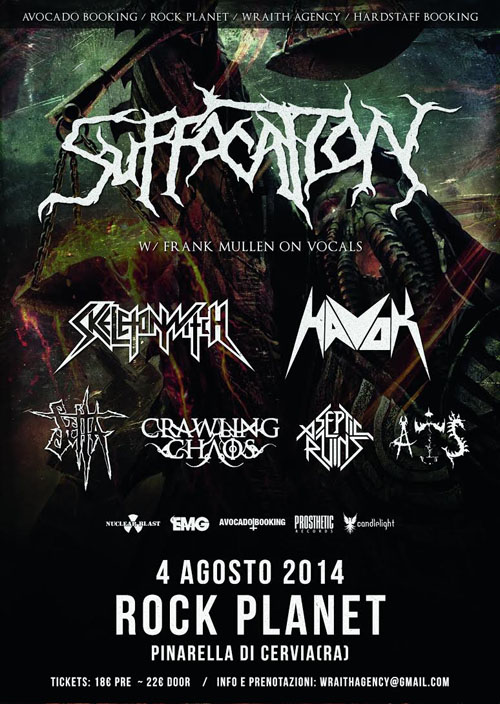 Suffocation Rock Planet