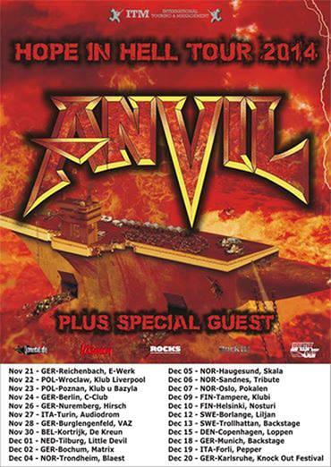 Anvil tour