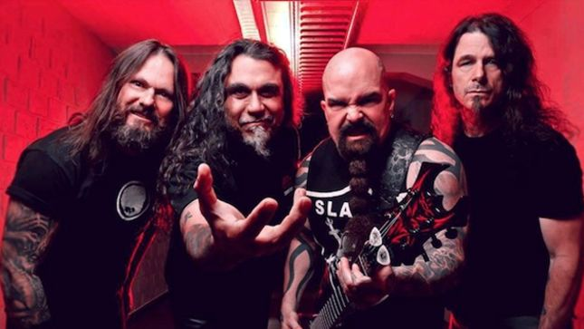 SLAYER - North American Headline Tour In Early 2016 Rumoured To Feature TESTAMENT And CARCASS As Support