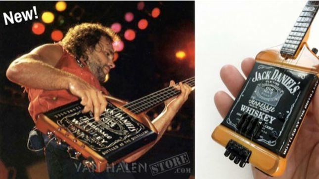 VAN HALEN - Michael Anthony Jack Daniel's Mini Bass Guitar Revamped