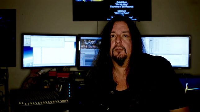 GENE HOGLAN Completes Work On The Atomic Clock: The Clock Strikes Two Instructional DVD; Video Announcement
